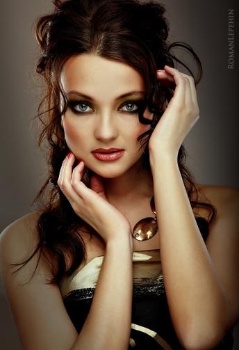 Maquillaje tono cálido
