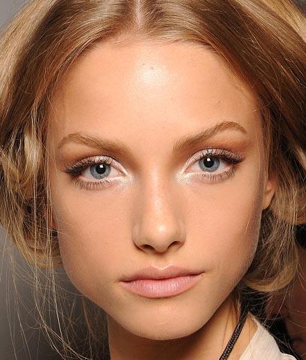 maquillaje en ojos pequeños