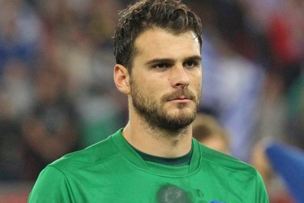 Orestis Karnezis - Grecia, Mundial de Fútbol Brasil 2014, Mundial de Futbol, los jugadores mas guapos, los mas guapos del mundial, los jugadores más guapos del mundial