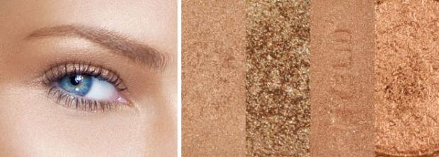 sombras bronceadoras, maquillaje verano, tendencia verano