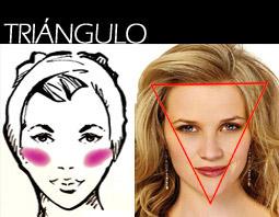 maquillaje rostro, como aplicarme el rubor, como aplicarme el colorete, rubor, como maquillarme, como maquillarse, rostro, maquillaje rostro, rostro triangular, tipos de rostro, rostro en forma de corazón, triángulo invertido